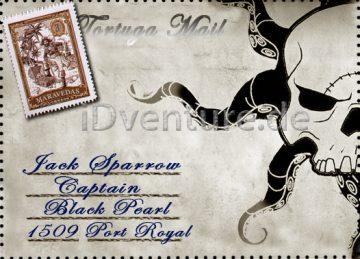 Piraten Briefumschlag