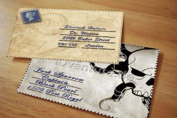 Sherlock Holmes Briefumschlag
