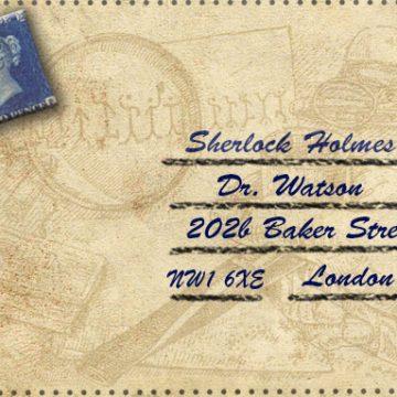 Sherlock Holmes – Briefumschläge