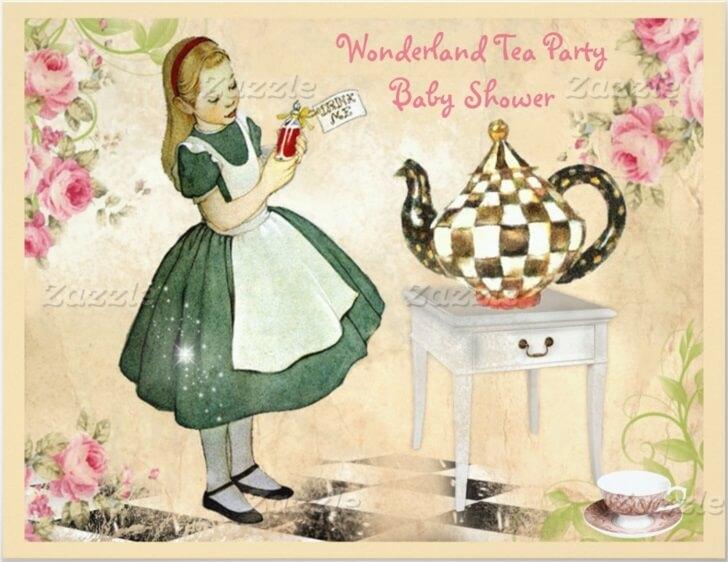 Alice im Wunderland - Partyzubehör Geburtstagspartyideen - iDventure