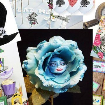 Alice im Wunderland – Partyzubehör Geburtstagspartyideen