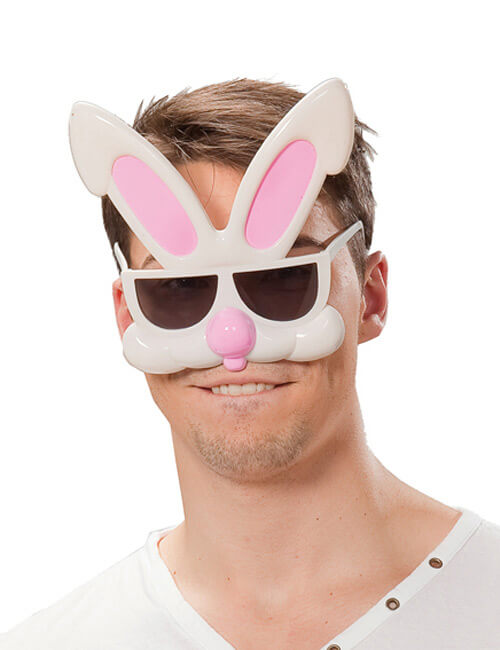 hase-disco-party-brille-weiss-rosa-braun-karneval-fasching-zubehoer-accessoires-karnevalsartikel-faschingsartikel-kostuemzubehoer