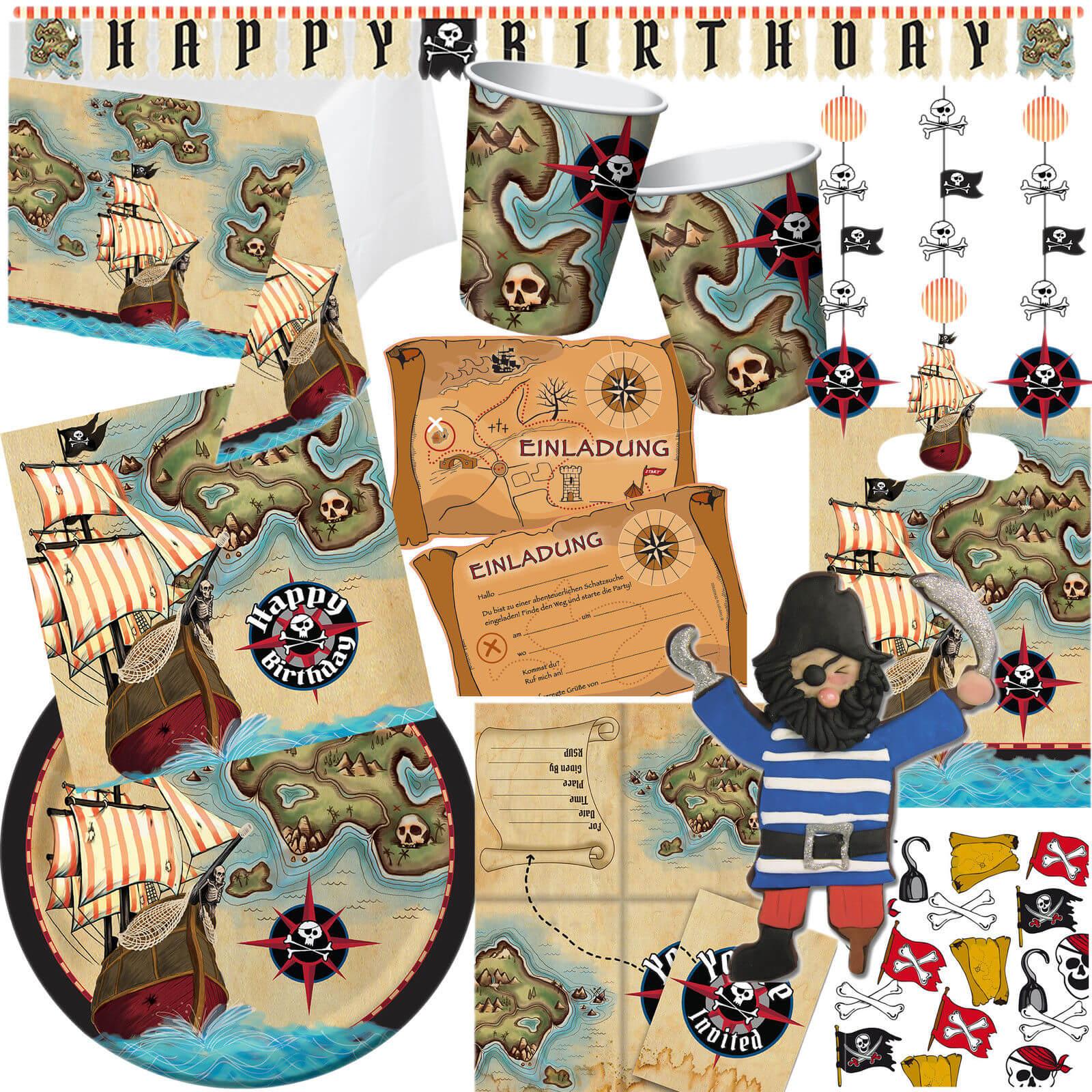 Piraten Party - Dekoration und Zubehör Tipps - iDventure