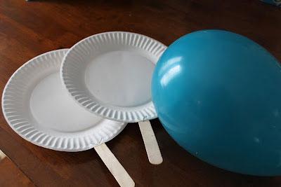 spass kinder basteln ideen kindergeburtstag Luftballon