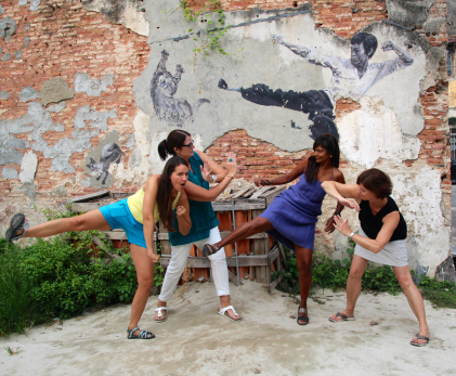 foto schnitzeljagd kindergeburtstag teens spiele partyideen kungfu