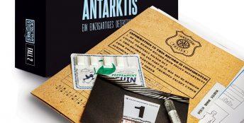 Detective Stories. Case2 - Antarctic Fatale [EN Edition]